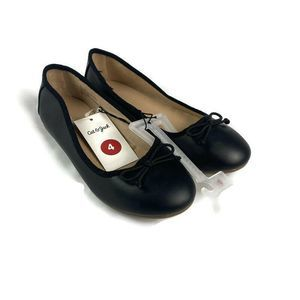 Cat & Jack Girl's Stacy Ballet Flats Dress Shoes